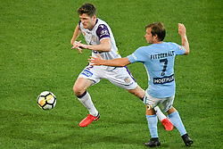 November 24, 2017 - Melbourne, Victoria, Australia - ADAM TAGGART (22) of the Glory controls the ball in the round eight match of the A-League between Melbourne City and Perth Glory at AAMI Park, Melbourne, Australia. Perth won 3-1 (Credit Image: © Sydney Low via ZUMA Wire)