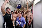 DESCRIZIONE : Forli DNB Final Four 2014-15 Gecom Mens Sana 1871 Eternedile Bologna<br /> GIOCATORE : team<br /> CATEGORIA : esultanza postgame premiazione<br /> SQUADRA : Eternedile Bologna<br /> EVENTO : Campionato Serie B 2014-15<br /> GARA : Gecom Mens Sana 1871 Eternedile Bologna<br /> DATA : 13/06/2015<br /> SPORT : Pallacanestro <br /> AUTORE : Agenzia Ciamillo-Castoria/M.Marchi<br /> Galleria : Serie B 2014-2015 <br /> Fotonotizia : Forli DNB Final Four 2014-15 Gecom Mens Sana 1871 Eternedile Bologna