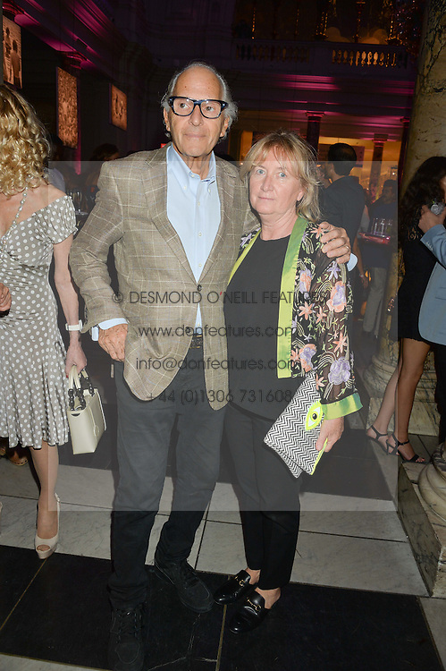DAVID & MARTINE MONTGOMERY at a private view of You Say You Want A Revolution: Records and Rebels 1966-1970 at the V&A, London on 7th September 2016.