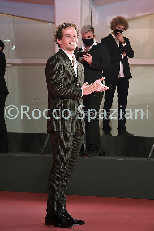 """VENICE, ITALY - SEPTEMBER 10:Eli Brown the red carpet ahead of the movie """"Run Hide Fight"""" at the 77th Venice Film Festival on September 10, 2020 in Venice, Italy.<br /> (Photo by Rocco Spaziani)"""