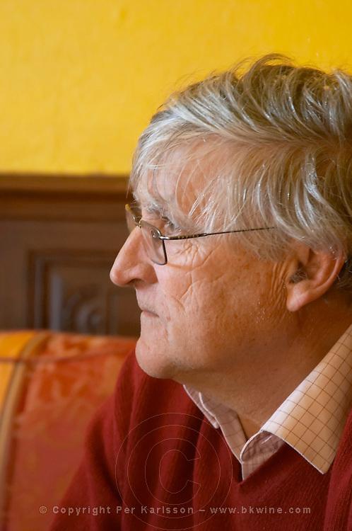 Bernard Jany Chateau la Condamine Bertrand. Pezenas region. Languedoc. Owner winemaker. France. Europe.
