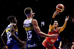 Tevin Falzon of Bristol Flyers - Mandatory by-line: Robbie Stephenson/JMP - 05/10/2018 - BASKETBALL - University of Worcester Arena - Worcester, England - Bristol Flyers v Worcester Wolves - British Basketball League