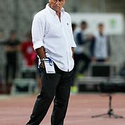 Galatasaray's coach Fatih TERIM during their Turkish soccer superleague match Istanbul BBSpor between Galatasaray at the Ataturk Olympic stadium in Istanbul Turkey on Sunday 11 September 2011. Photo by TURKPIX