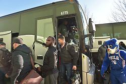 Feb 5, 2018; Philadelphia, PA, The Philadelphia Eagles return to the NovaCare complex after winning Super Bowl LII. (Photo by John Geliebter/Philadelphia Eagles)