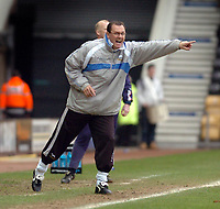 Photo: Leigh Quinnell.<br /> Derby County v Crystal Palace. Coca Cola Championship. 25/03/2006. Derby caretaker manager Terry Westley on the touch line.