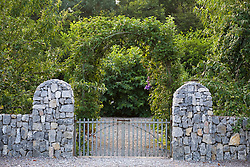 Apple arch at the entrance to part of Ballymaloe Cookery school
