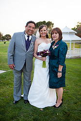 CYPRESS, CA - APRIL 06:  Wedding in Honor of Elena Estrada & Brian Rodriguez held at Eagle Nest Club House on April 6, 2012 in Cypress, CA (Photo by Jc Olivera)
