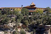Oct. 6, 2008 -- GRAND CANYON NATIONAL PARK: The El Tovar Lodge, a historic hotel along the south rim of the Grand Canyon National Park in northern Arizona. Photo by Jack Kurtz