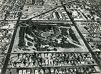 1929 Aerial photo of Barnsdall Park