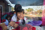 """Sanger, CA<br /> Socorro Alonso<br /> Giselle Alonso (5 years) <br /> Jorge Alonso (3 years) <br /> Julian Alonso (10 mos.)<br /> <br /> Giselle Alonso is a five-year-old girl that could change the future of her family.  She is a confident and bright girl, who speaks English and Spanish despite her family only speaking Spanish.  Her siblings depend on her for help with school; certificates of recognition attest her high performance.  With devotion to school, a supportive family, and good health, Giselle has every chance of achieving whatever she puts her mind to.  <br /> <br /> However, things could have turned out very differently for Giselle.  Her family moved to Sanger, CA only three years ago in search of more opportunities and support from family.  Socorro's day revolves around taking care of her and her three siblings.  """" I am alone and tired,"""" she shares, """"But it's worth it if my kids are happy.""""  Her father has a good job in the flooring business, but works long hours to provide for the family.  Socorro doesn't speak any English, and Giselle's older sister struggles with school.  <br /> <br /> Before moving to the Central Valley, the family found it difficult to pay rent and buy food in Santa Rosa, CA.  While they never went hungry, Socorro shared that she sometimes worried how she was going to get enough healthy foods.  She knew that buying unhealthy food and junk food might be cheaper, but knows the importance of nutrition especially when it comes to good health.  One medical issue could set the family back thousands of dollars.  Because of this, she cooks all of their meals with fresh produce and lean meats at home.  <br /> <br /> This isn't the reality for a great percentage of people where Giselle lives in Fresno County, where 16.2 percent of the population—about 24,340 people—struggles with food insecurity.  The assistance from the food pantry allows her mother to feed the family healthy foods and keep Giselle healthy."""