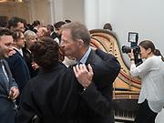 NICHOLAS SEROTA; PRINCESS ALIA AL-SENUSSI; , Opening of Galerie Thaddaeus Ropac London, Ely House, 37 Dover Street.. Mayfair. London. 26 April 2017.