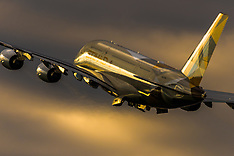 2014-09-04 Stock images: Heathrow landings and take-offs