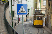 Lisbon tram line 28 passes through Alfama  district and is the longest line of trams which cross the city.