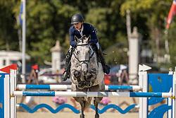 Guisson Tristan, BEL, No Limit Vh. Legita Hof Z<br /> Belgian Championship 7 years old horses<br /> SenTower Park - Opglabbeek 2020<br /> © Hippo Foto - Dirk Caremans<br />  13/09/2020