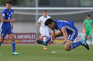 Tom Achi Mordechay of Israel (12) during the UEFA European Under 17 Championship 2018 match between Israel and Italy at St George's Park National Football Centre, Burton-Upon-Trent, United Kingdom on 10 May 2018. Picture by Mick Haynes.