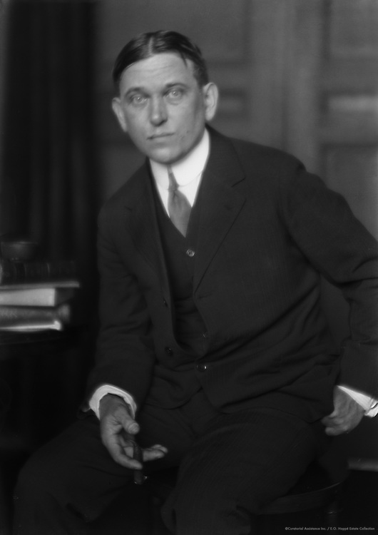 H.L. Mencken, American Journalist and Satirist, 1921