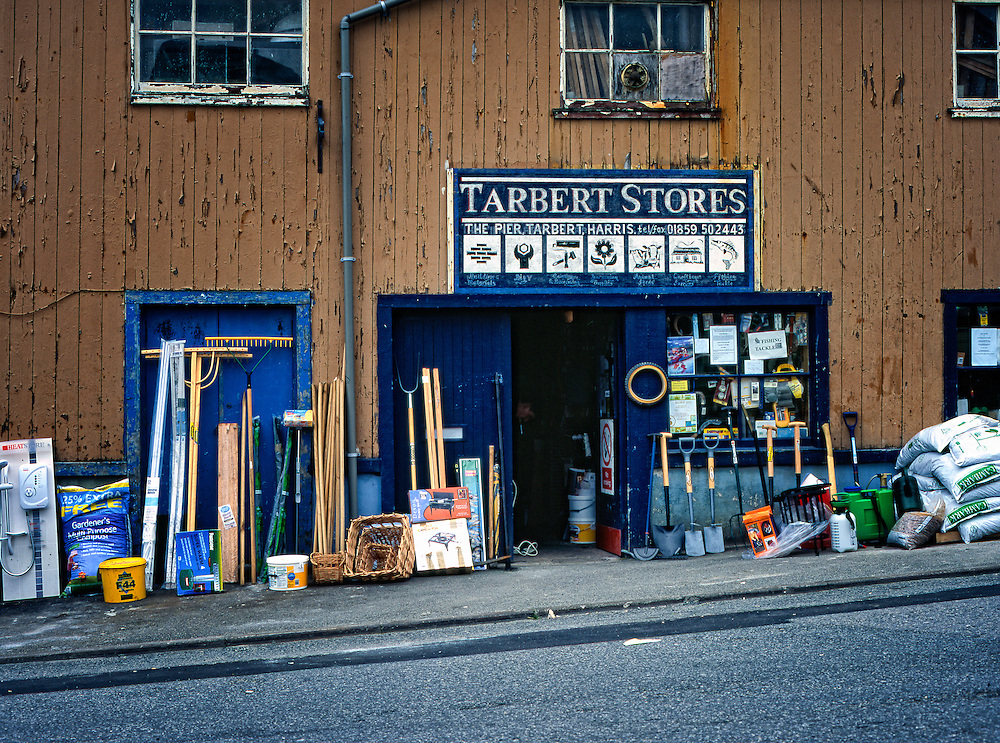 Hardware store, Tarbert, Isle of Harris