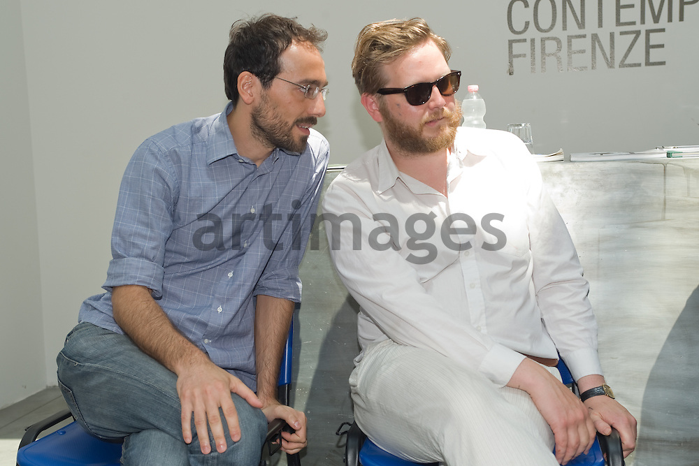 Ragnar Kjartansson exhibition press conference at EX3 , center for Contemporary art in Florence, Italy