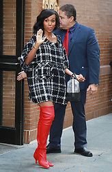 Kerry Washington at ABC's The View. 05 Oct 2017 Pictured: Kerry Washington. Photo credit: RW/MPI/Capital Pictures / MEGA TheMegaAgency.com +1 888 505 6342
