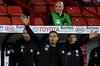 Football - 2020 / 2021 Sky Bet Championship - Play-offs - Semi-final 1st Leg - Barnsley vs Swansea City - Oakwell<br /> <br /> Barnsley's Manager Valerien Ismael