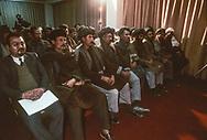 The president Najibulah in the presidential palace  Kabul  Afghanistan    / le président Najibulah dans son palais présidentiel à Kaboul  Kaboul  Afghanistan