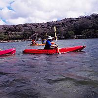 Hawaii, Molokai, kayak touring