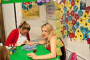 JESSICA PEMBERTON HAVING NAILS DONE, Rubbish party. Given by Rubbish magazine.Parliamentary Waffle House. Broadwick St. London. 5 May 2010 *** Local Caption *** -DO NOT ARCHIVE-© Copyright Photograph by Dafydd Jones. 248 Clapham Rd. London SW9 0PZ. Tel 0207 820 0771. www.dafjones.com.<br /> JESSICA PEMBERTON HAVING NAILS DONE, Rubbish party. Given by Rubbish magazine.Parliamentary Waffle House. Broadwick St. London. 5 May 2010
