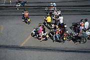 Motorcycles in Bangkok, Thailand. PHOTO TIAGO MIRANDA