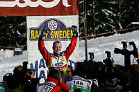 MOTORSPORT - WRC 2010 - RALLY SWEDEN - KARLSTAD (SWE) - 11 to 14/02/2010 - PHOTO : ALEXANDRE GUILLAUMOT / DPPI<br /> MIKKO HIRVONEN (FIN) - BP FORD ABU DHABI - FORD FOCUS WRC - AMBIANCE PORTRAIT