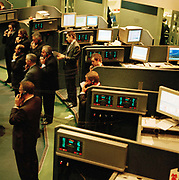 Largely pictured here are members of Sucdens trading firm  on the floor at the LME on 13th of December 2006 in London.  Established for over 130 years and located in the heart of The City of London, the London Metal Exchange is the worlds premier non-ferrous metals market. Trading takes place across three trading platforms: through open-outcry trading in the 'Ring', through an inter-office telephone market and through LME Select, the Exchange's electronic trading platform.