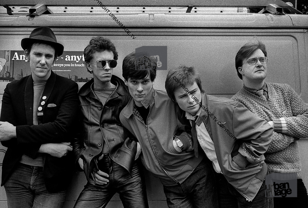 The Distractions - Manchester Punk Rock Band 1979 photosession