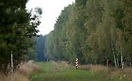 Puszcza Białowieska. Granica z Białorusią