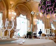 La salle de restaurant L'Espadon, Hotel  Ritz Paris, Paris-Ile-de-France, France.<br /> The room of the restaurant L'Espadon, Hotel Ritz Paris, Paris-Ile-de-France, France.