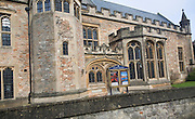 Wells Cathedral School music faculty housed in historic building in part dating back to 1500s, Wells, Somerset, England