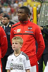 06.09.2013, Allianz Arena, Muenchen, GER, FIFA WM Qualifikation, Deutschland vs Oesterreich, Rueckspiel, im Bild David ALABA #8 (Oesterreich), // during the FIFA World Cup Qualifier second leg Match between Germany and Austria at the Allianz Arena, Munich, Germany on 2013/09/06. EXPA Pictures © 2013, PhotoCredit: EXPA/ Eibner/ Christian Kolbert<br /> <br /> ***** ATTENTION - OUT OF GER *****