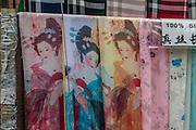 Shibaozhai, Yangtze River, China, art, craft, shopping, silk