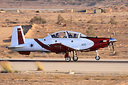 Israeli Air force Flight Academy Beechcraft T-6A Texan II