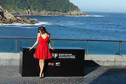 September 22, 2018 - San Sebastian, Spain - Laetitia Casta attends the  'A Faithful Man' Photocall during the 66th San Sebastian Film Festival in San Sebastian on September 22, 2018 in San Sebastian, Spain. (Credit Image: © Manuel Romano/NurPhoto/ZUMA Press)