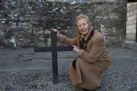 Una O'Callanain, Grandaughter of Michael Mallin who was one of the 14 leaders of the Rising executed at Kilmainham Gaol.<br />Pic:Mark Condren<br />27.3.2016