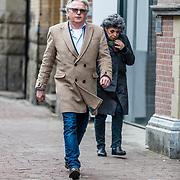 NLD/Amsterdam//20170309 - Herdenkingsdienst Guus Verstraete, Frank Timmer