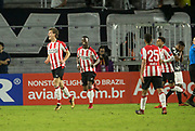 01/10/2018. Orlando, USA.  <br /> <br /> CORINTHIANS SP V PSV EINDHOVEN 2018 Florida Cup.<br /> <br /> PSV's NO 14 SAM LAMMERS celebrates after he scores the EQUALISER with seconds left in the game  after the game finished 1-1  Corinthians win 5-4 on Penalties DURING THE FIRST MATCH OF THE 2018 FLORIDA CUP BETWEEN CORINTHIANS AND PSV EINDHOVEN. <br /> <br /> At  ORLANDO CITY STADIUM, Orlando.<br /> Pic: Mark Davison /PLPA