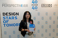 Karen Chan, Perspective Group Sales Director at the Perspective Magazine 40 Under 40 award ceremony.