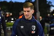 Chris Mepham (33) of AFC Bournemouth arriving at the Vitality Stadium before the Premier League match between Bournemouth and Chelsea at the Vitality Stadium, Bournemouth, England on 30 January 2019.