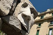 Sculpture, Plaza de Armas, Santiago, Chile