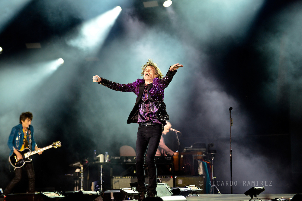03.07.2014. Roskilde, Denmark.The Rollings Stone performs live at the Orange stage at Roskilde Festival 2014.Photo: © Ricardo Ramirez