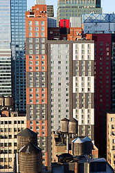 buildings in New York City on top of one another