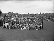 12/08/1956.08/12/1956.12 August 1956.The All-Ireland Minor Hurling Semi-Final 1956. Tipperary team.