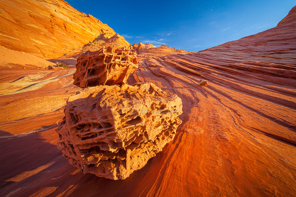 Rock formations in the North Coyote Buttes unit of the Vermillion Cliffs National Monument