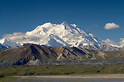 Mt. McKinley (Denali), Denali National Park, Alaska. Digital original  ©Robin Brandt  #2007_2626