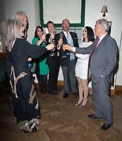 Janine Narissa, Jonathan Sothcott, Billy Murray, Martin Kemp, Nick Moran, Shirley Kemp Elaine Murray, Wedding Celebration of Janine Narissa and Jonathan Sothcott, at Hush Mayfair London. 12.09.20